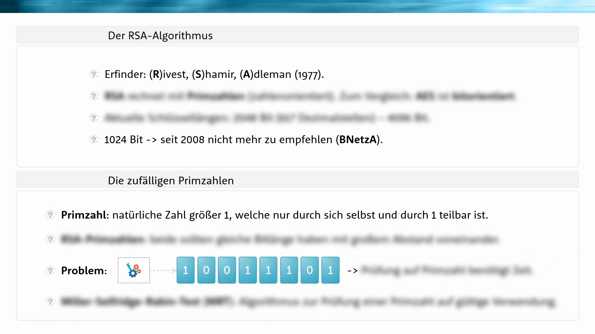 RSA Algorithmus